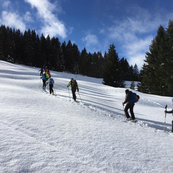 Journée initiation ski de randonnée